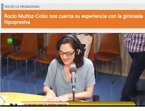 Rocío Muñoz-Cobo nos cuenta su experiencia con la gimnasia hipopresiva