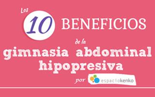 los diez beneficios de la gimnasia abdominal hipopresiva